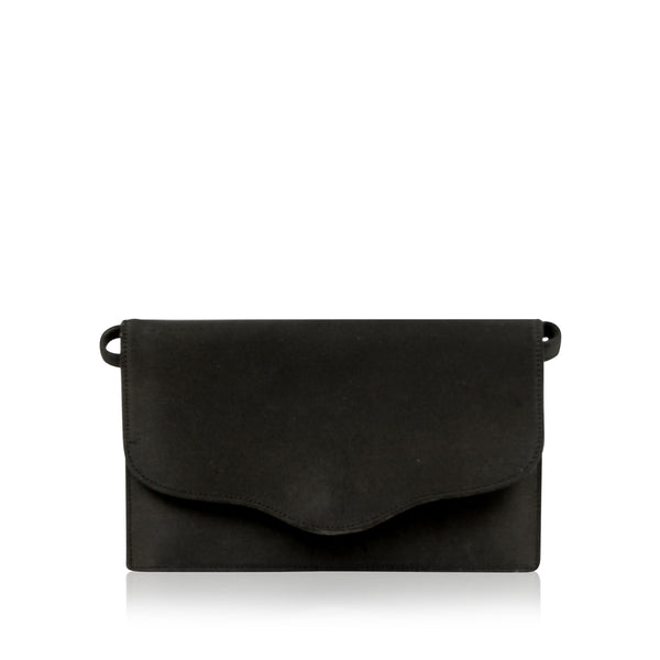 Satin Flap Bag