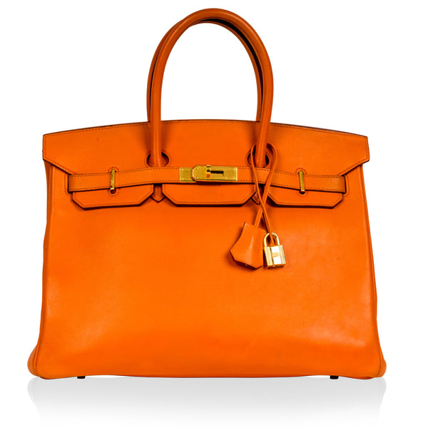 Birkin 35 - Orange Swift