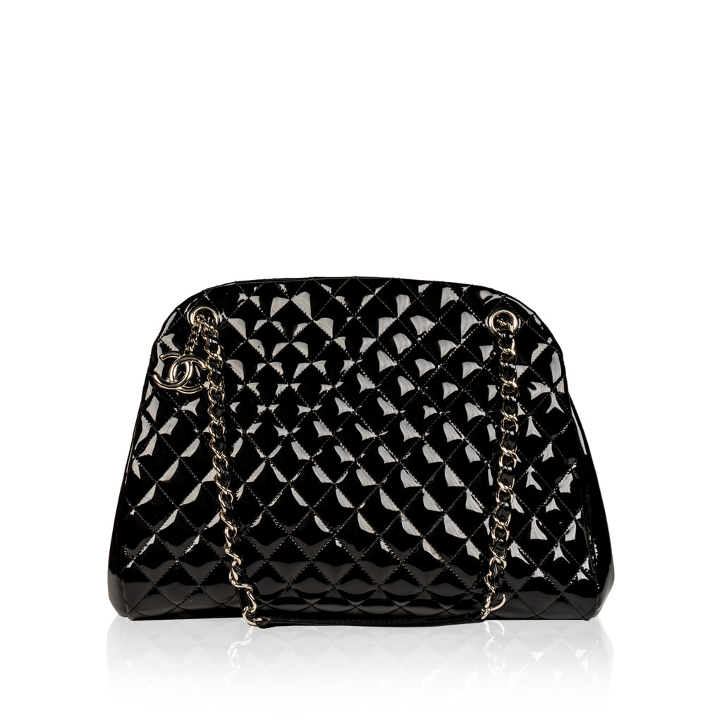 Mademoiselle Patent Shoulder Bag