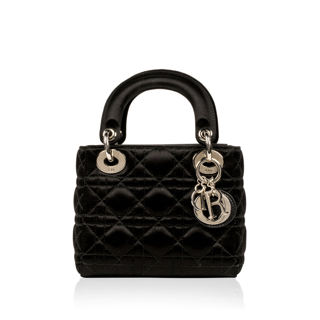 Lady Dior - Mini - Satin Black