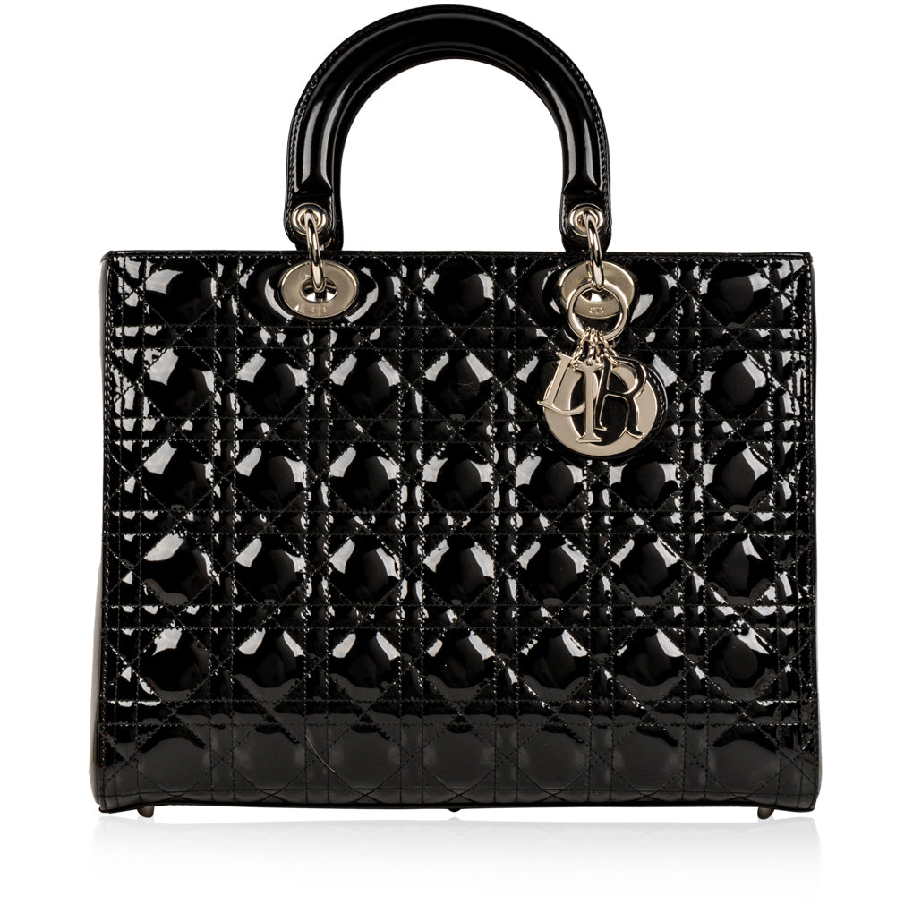 Lady Dior Leather - Patent