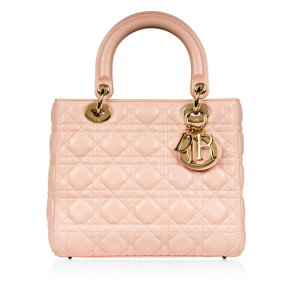 Lady Dior Medium - Blush PInk
