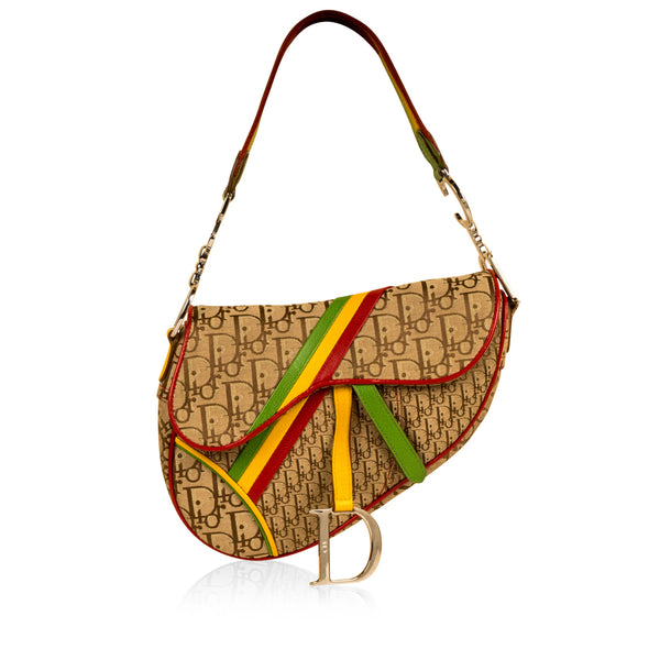 Rasta Saddle Bag - Vintage