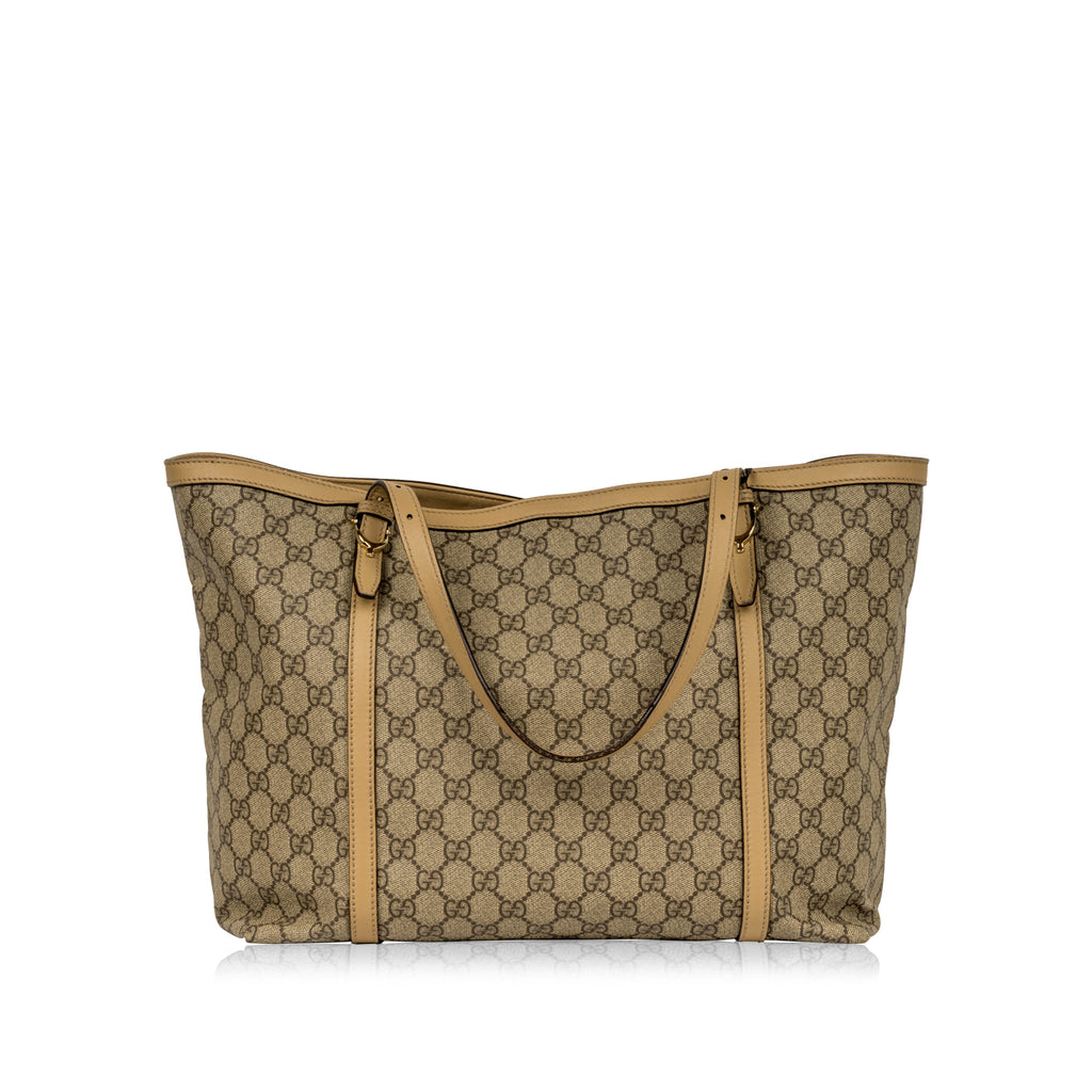 GG Supreme Canvas Shopper