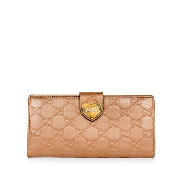 Love Heart GG Wallet