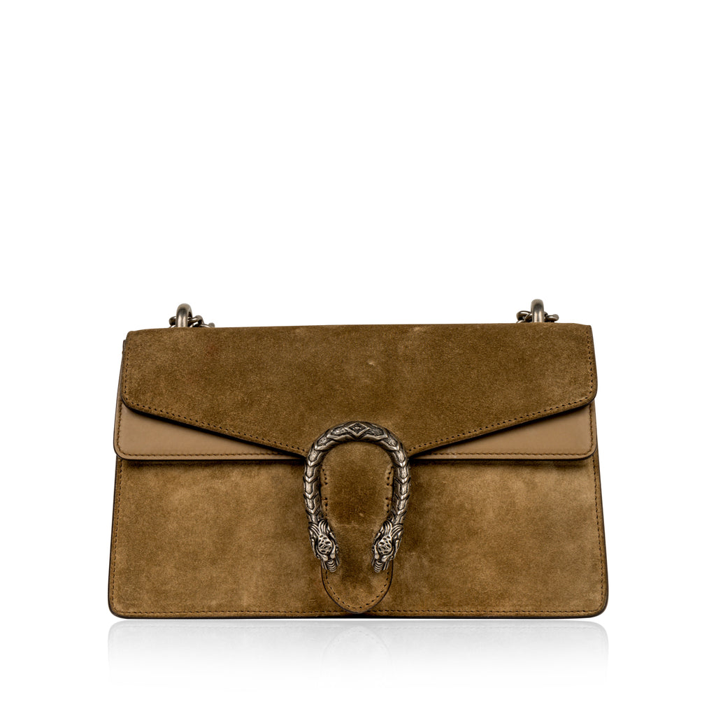 Dionysus GG Suede Small Bag