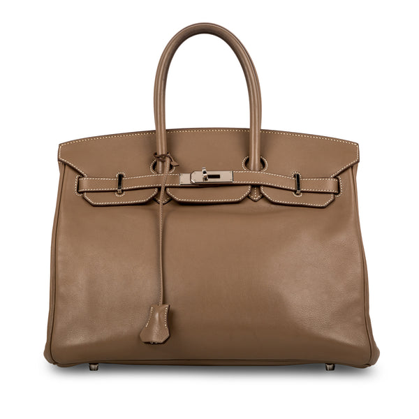 Birkin 35 - Etoupe Swift - PHW