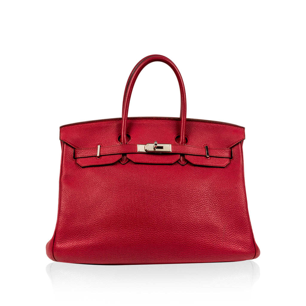 Birkin 35cm - Ruby Togo Leather - PHW