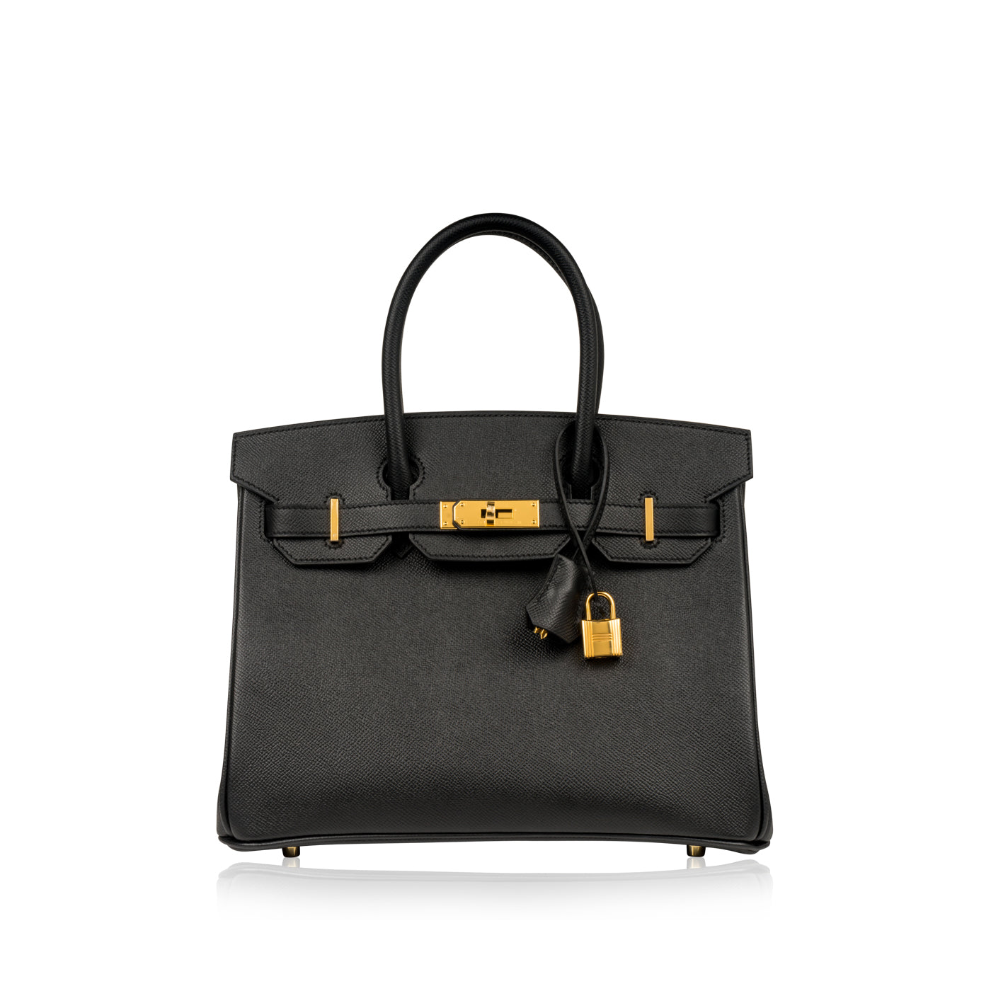 673fd7575e8e Hermès - Birkin 30cm - Black Epsom Leather - Gold Hardware