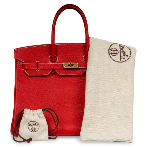 Birkin 35 - Rouge Casaque - Limited Edition