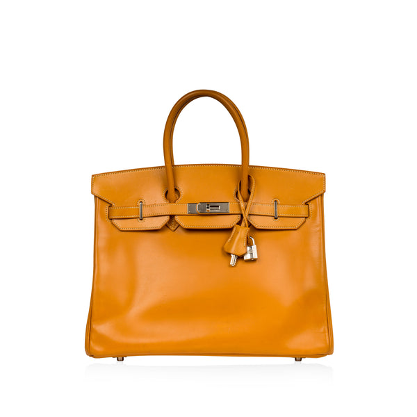 Birkin 35 - Natural Vache Leather