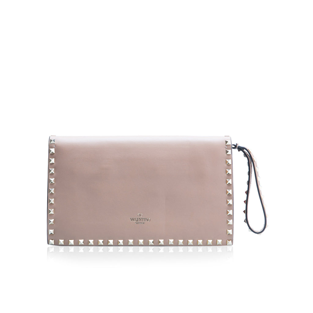 Mini Tote Studded- Rockstud Clutch
