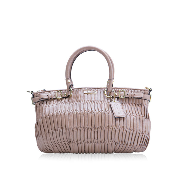 Madison Gathered Sophia Satchel