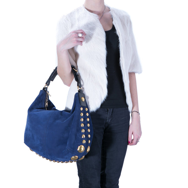Studded Chanter Tote
