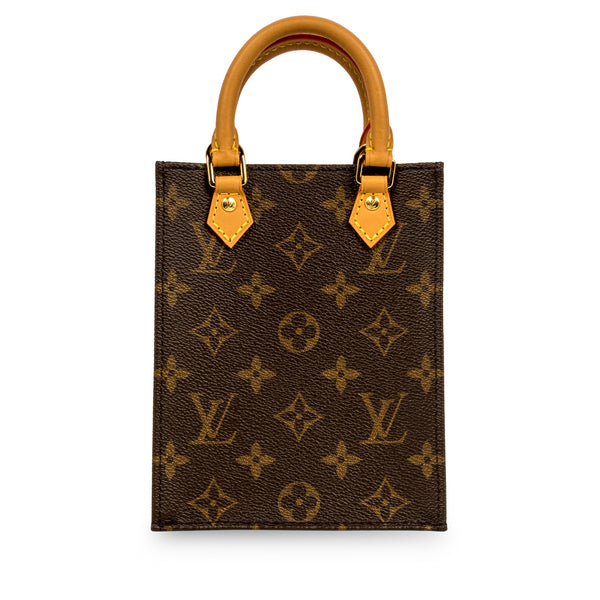Petit Sac Plat - Monogram Canvas
