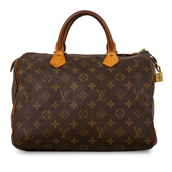 Speedy 30 - Monogram Canvas