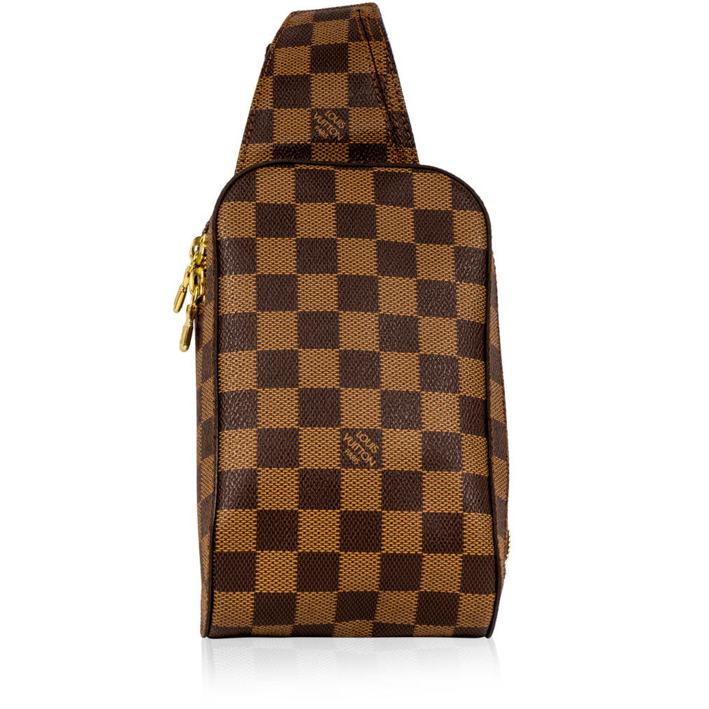 Géronimos - Damier Ebene - Brown Bum Bag