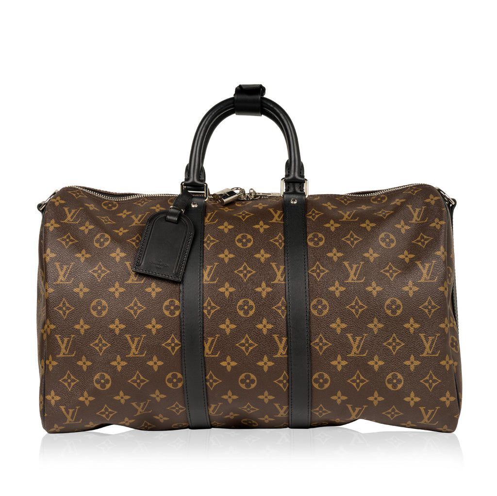 Keepall 45 - Monogram Macassar Canvas