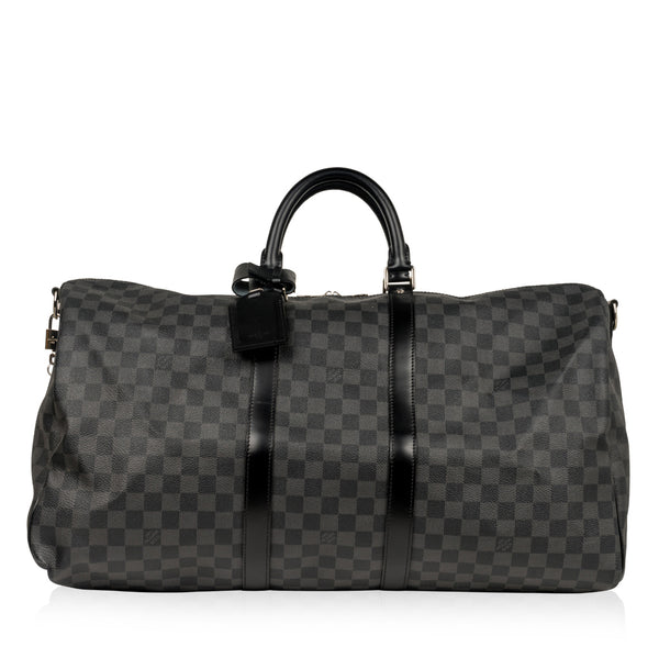 Keepall 55 - Damier Graphite