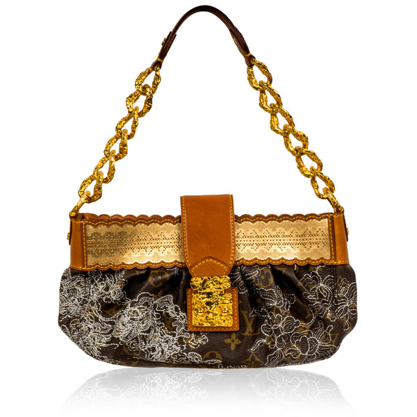 Shoulder Bag - Monogram Dentelle
