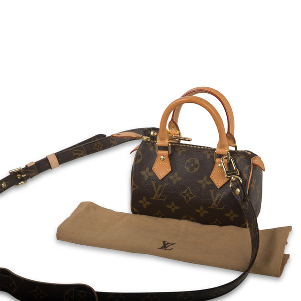 Speedy HL - with Monogram Canvas Strap