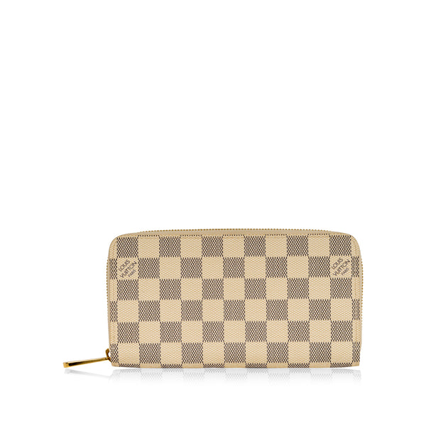 Zippy Wallet - Damier Azur