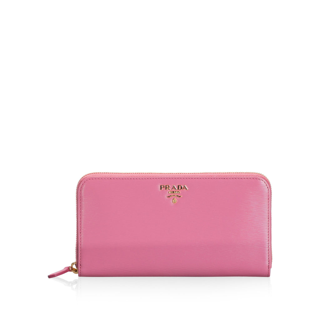 Peony Pink Portafogolio Lampo Wallet