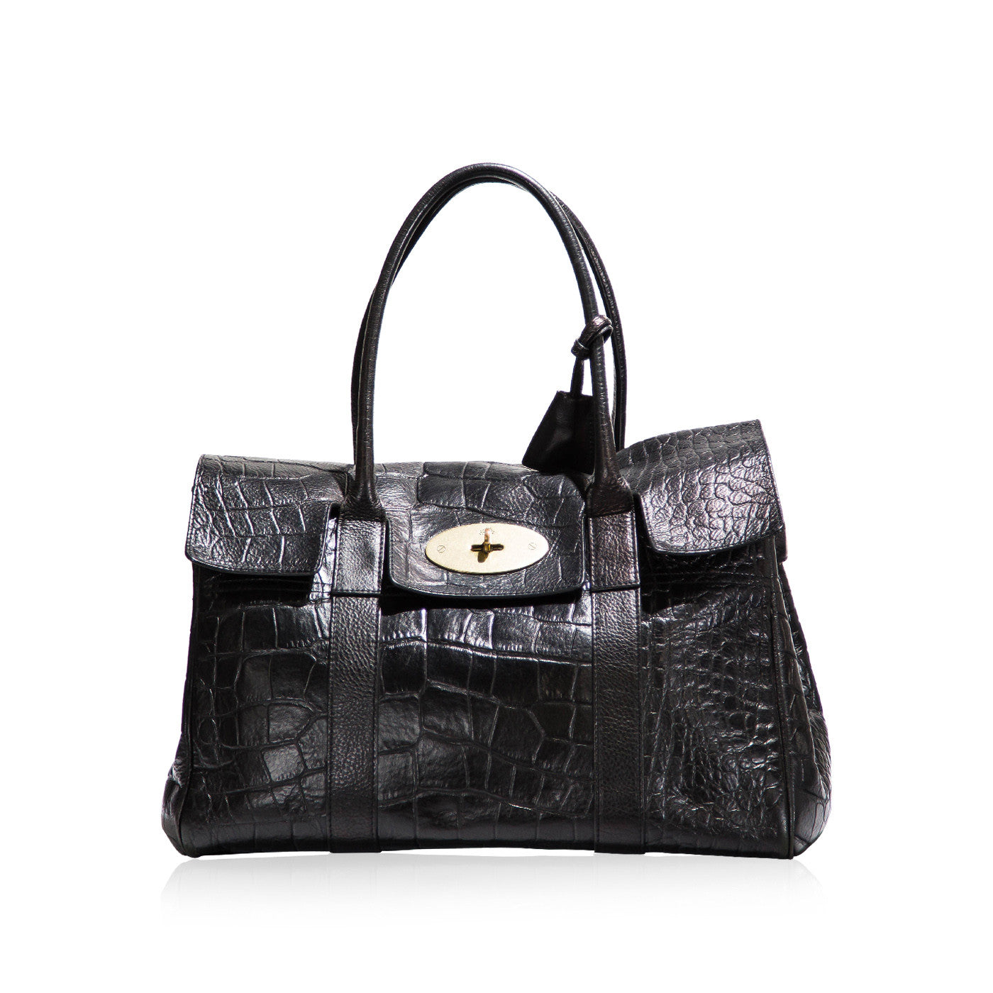 9dcb276bc8fb good mulberry bayswater bag croc quick 120a8 ab605