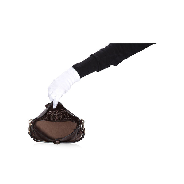 Belted Small Handheld Tote