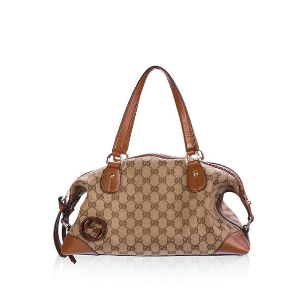 GG canvas shoulder-bag