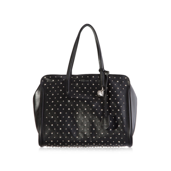 Studded Padlock Zip Around
