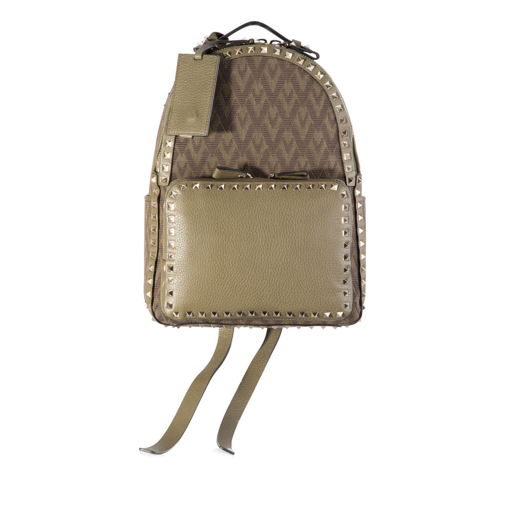 Jacquard Studded Backpack