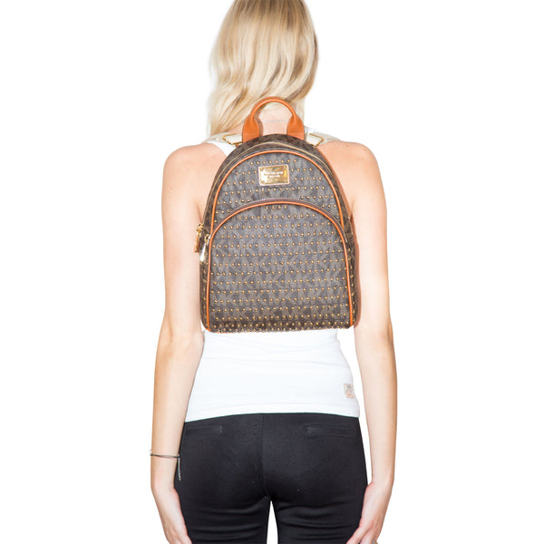 Jet Set Studded Backpack