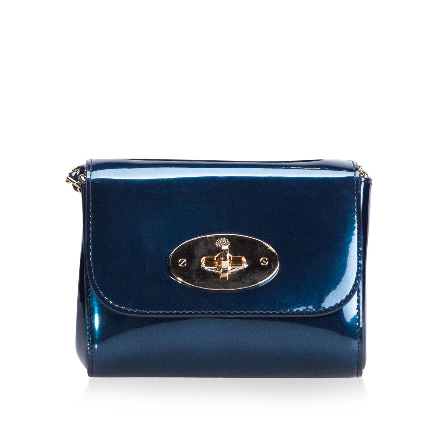 Mulberry. Mini Lily Metallic Blue 0b9c1673335a1