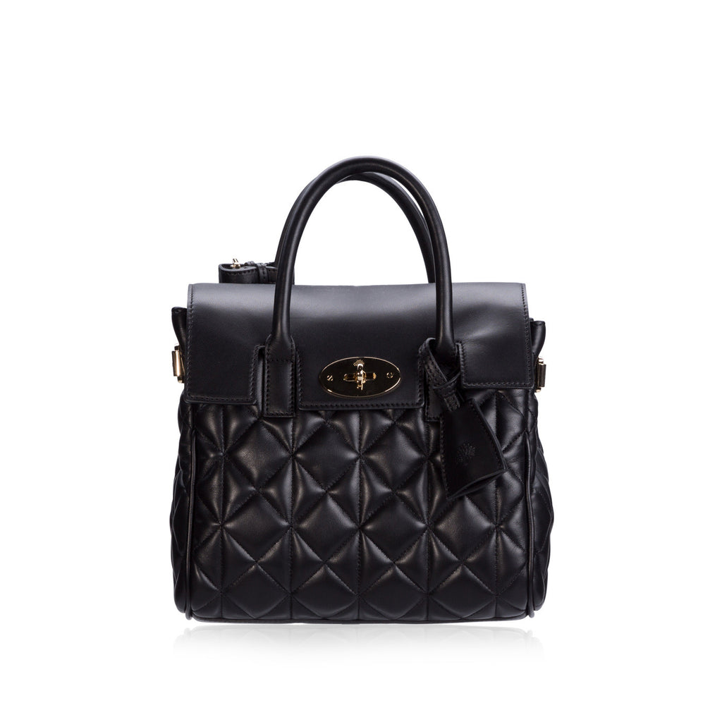 Cara Delevingne Mini Quilted Backpack/Tote