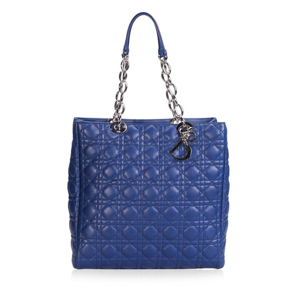 Cannage Quilted Tote
