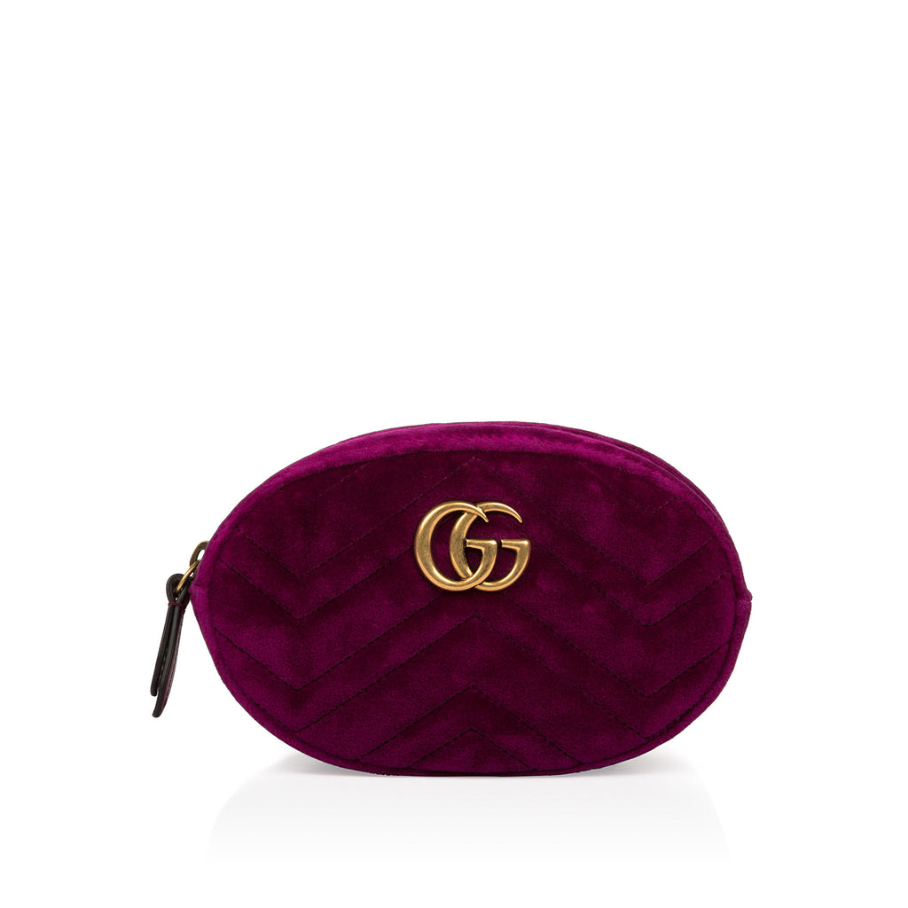 Gucci Marmont Belt Bag Fuchsia