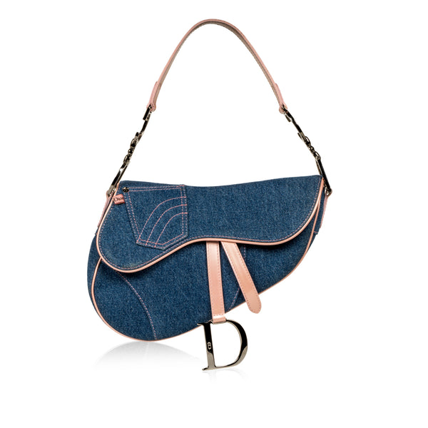 Vintage Saddle Bag - Denim