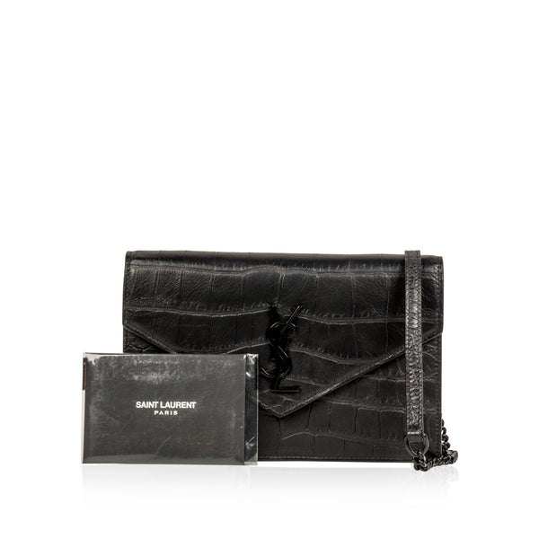Envelope Crossbody - Croc Embossed