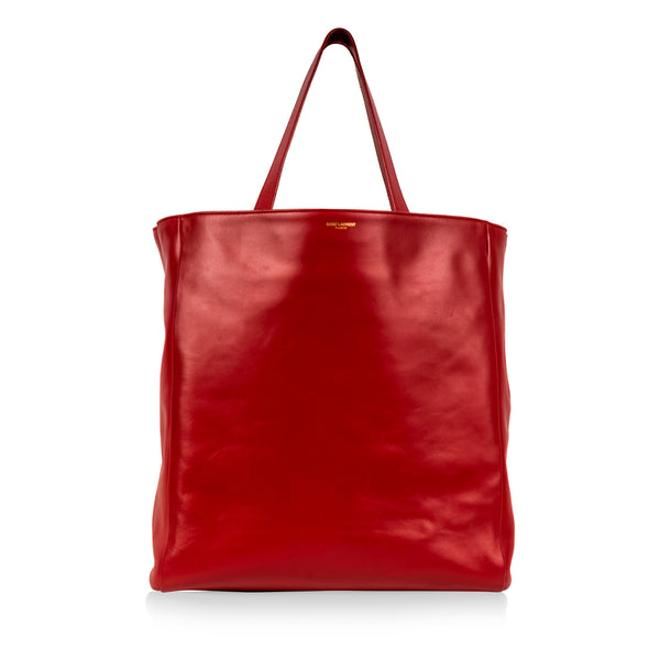 Soft Tote Bag - Red