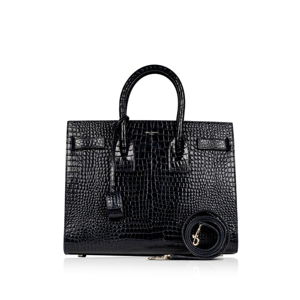 Small Sac de Jour - Croc Embossed