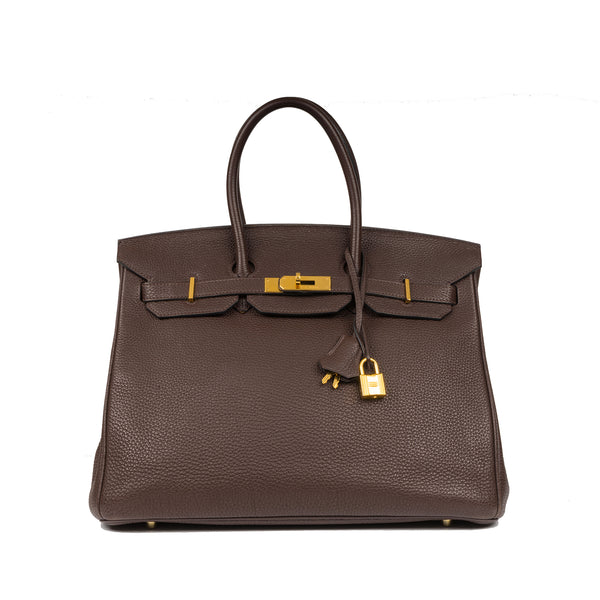 Birkin 35 - Chocolate Brown - GHW