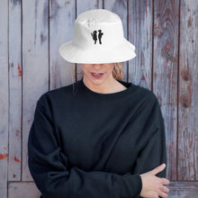 Load image into Gallery viewer, Banksy Boy Meets Girl Bucket Hat