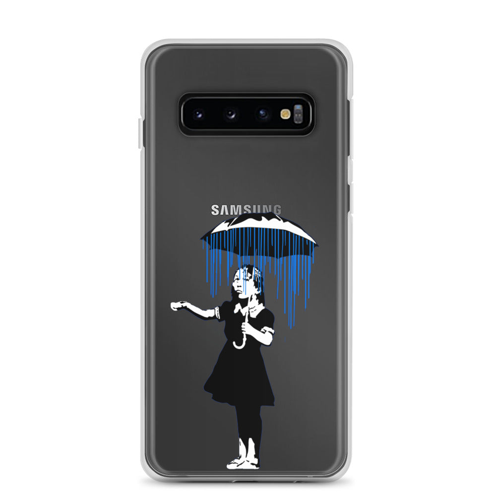 Banksy Raining on the Inside Samsung Case