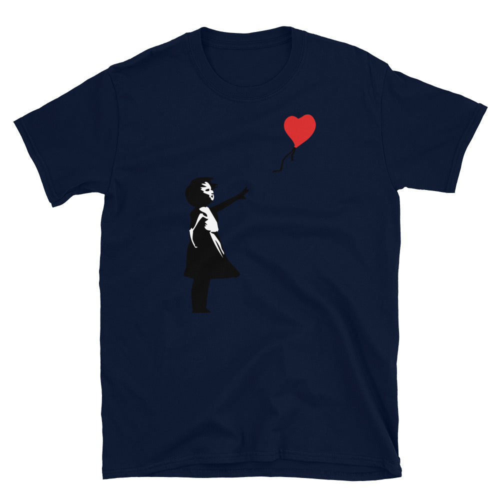 Banksy Letting Love Go T-Shirt