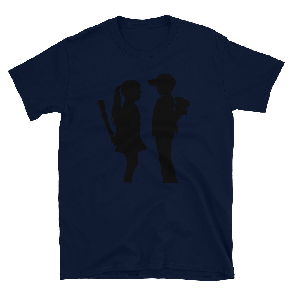 Banksy Boy Meets Girl T-Shirt