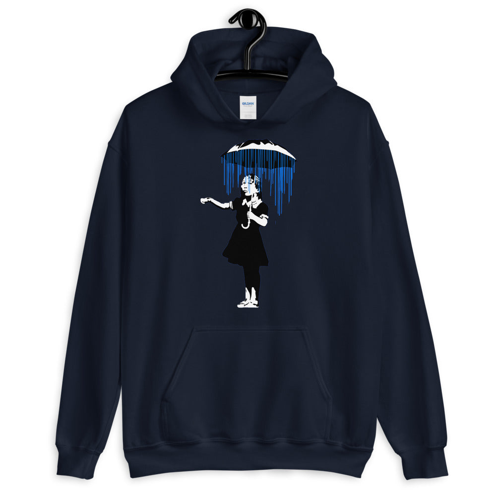 Banksy Raining on the Inside Hoodie
