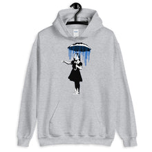 Load image into Gallery viewer, Banksy Raining on the Inside Hoodie