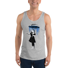Load image into Gallery viewer, Banksy Raining on the Inside Tank Top
