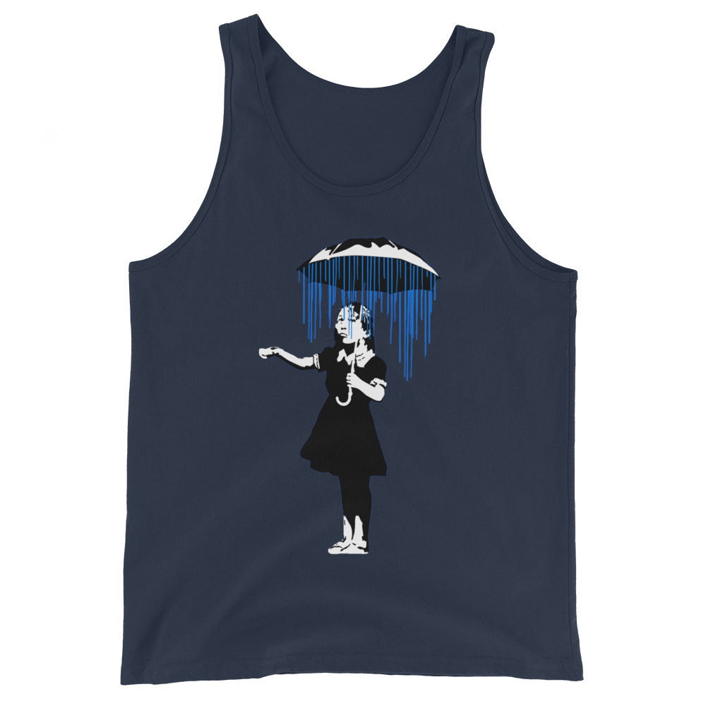 Banksy Raining on the Inside Tank Top